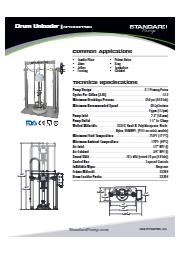 サニタリー ドラムアンローダー(ピストンポンプ式) SPTSU6PPNIS 表紙画像