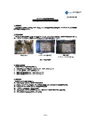 高含水泥土改良剤MTシリーズ 試験報告書 表紙画像