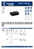 P-DUKE【MPP10】医療用(2MOPP) 高絶縁耐圧 10W DC/DCモジュール 表紙画像