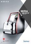 プログラム機能対応同軸ストリッパー Mira 440/Mira 440 SF 表紙画像