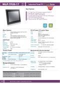17型第6世代Core-i5-6200U-2.3GHz CPU搭載の高性能ファンレス・タッチパネルPC『WLP-7F20-17』 表紙画像