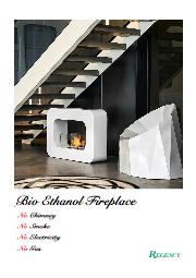 【無料贈呈】煙突の設置が不要!「エタノール燃料暖炉」総合カタログ!自宅で手軽に暖炉も夢じゃない!炎がゆらめく空間を演出! 表紙画像
