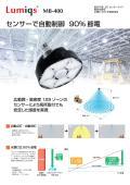 高天井用 LED センサーライト 「MB-400」