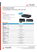 エッジAIプラットフォームM100-Nano-AINVR 表紙画像