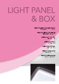 LIGHT PANEL & BOX 製品カタログ 表紙画像