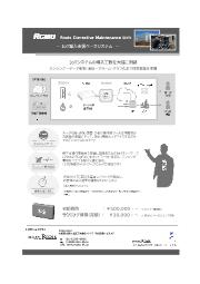 IoT導入支援ベースシステム『RCMU』 表紙画像