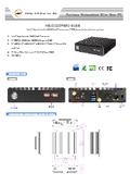 J3455搭載 小型ファンレスPC 【HBJC420P691-345B】