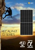 製品カタログ『ソーラーモジュール REC ALPHα 72 SERIES』