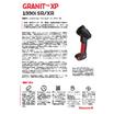 高堅牢・ハイパフォーマンスバーコードリーダ|Granit XP 1990iSR/XR 表紙画像