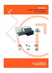 高速自動開封機『IM-19』 表紙画像