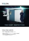 X線/CT検査システム『YXLON UX20』 表紙画像