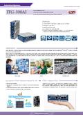 小型PC IEI ITG-100-AI 製品カタログ