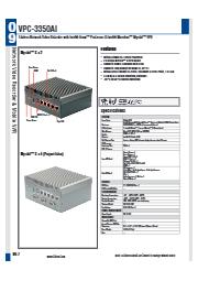 AIエッジ向け産業用PC【VPC-3350AI】 表紙画像
