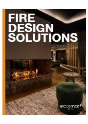 バイオエタノール暖炉『EcoSmart Fire』総合カタログ 表紙画像