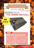 キャンペーン第二弾「TS-3000 Series」