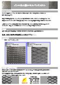 耐熱・耐蝕合金『インコネル製エキスパンドメタル』