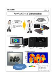 AEROSONARによる接着状態検査 表紙画像