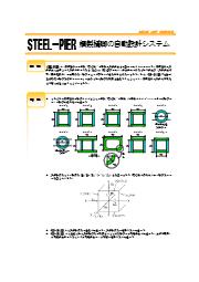 鋼製橋脚の自動設計システム『STEEL-PIER』 表紙画像