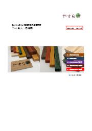 【SankyoEiken液体ガラス含侵木材】価格表 表紙画像