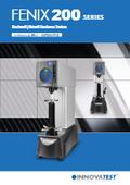 ロックウェル硬さ試験機『FENIX 200シリーズ』カタログ