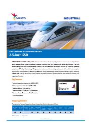 "2.5"" SSD SATA ISSS332 (MLC) 表紙画像"