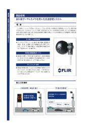 赤外線サーマルカメラを用いた交通管理システム 表紙画像