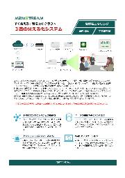 【新型コロナ対策/現場IoT】3密見える化(3密回避)システム(エッジAIカメラ+CO2センサ) 製品カタログ 表紙画像