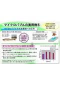 【ファインバブル/マイクロバブルの実用例5】水産養殖への応用 表紙画像