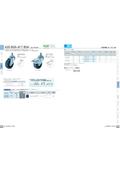 ねじ込み低騒音キャスター 420BSA/417BSA 表紙画像