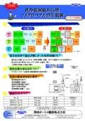 洗浄装置組込型 ファインバブル/マイクロバブル発生装置 MBUPD 表紙画像