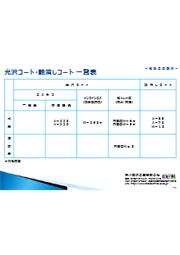 紙加工用塗料【光沢コート、マットコート】の製品カタログ 表紙画像