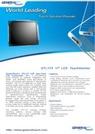17型組込用タッチパネルモニター『OTL173』 表紙画像