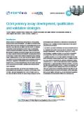 Application Note 26「Octet Potency Assay: Development... 表紙画像