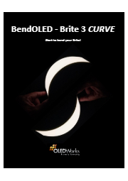 曲がる有機ELパネル BendOLED Brite 3CURVE 表紙画像