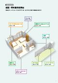 『病院・福祉施設用 樹脂製の内装建材カタログ』