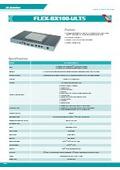 産業用ファンレスPC【FLEX-BX100-ULT5】