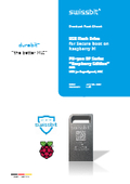 ラズベリーパイ向けセキュアブート用USBフラッシュメモリPU-50n