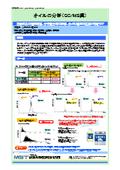 【分析事例】オイルの分析(GC/MS編)_C0648