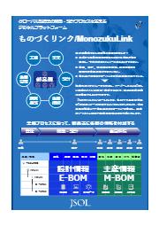 【部門間情報共有、標準化、見える化ソリューション(PLM)】  表紙画像