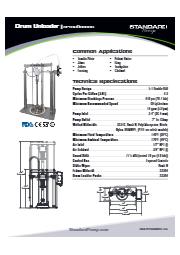 サニタリー ドラムアンローダー(ピストンポンプ式) SPTSU5DBBSS 表紙画像