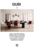 デンマーク家具 『GUBI社』 取扱い製品カタログ