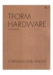 【金物】Tform ハードウェア デザイン別カタログ (本誌) 表紙画像
