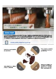 【ホワイトペーパー】バイキングポンプ チョコレート工場向け事例紹介【食品飲料向け】 表紙画像