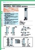 ◆◇面積式流量計 精密流量計測制御用 精密ニードルバルブ付流量計 MODEL RK1250 表紙画像