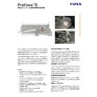 粉乳用インライン近赤外成分測定装置『ProFoss2』 表紙画像