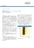 顕微赤外分光イメージングシステムによる塗料片の構造解析 表紙画像