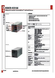 AIエッジ向け産業用PC【BOXER-8331AI】 表紙画像
