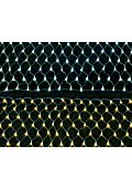 ハロウィン・クリスマスイルミ照明用LED180球ネットライト点滅式コントローラーか電源部別売りPSE適合IPX4MAX6連結 表紙画像