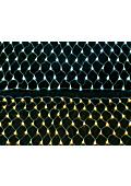 装飾用照明、イルミネーション用!LED180球ネットライト別売りコントローか電源部で動作。PSE適合品、IPX4、MAX6連結 表紙画像