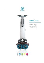 自動床洗浄機『imop Lite』 表紙画像